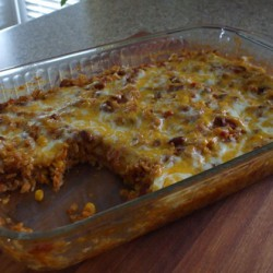 Chipotle Red Beans & Rice Casserole