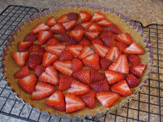Strawberry S'more Tart