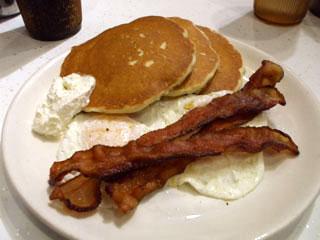 The Pancake Pantry Bacon & Eggs