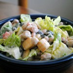 Three Bean and Cheese Salad