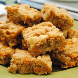 Butterscotch Macadamia Nut Bars