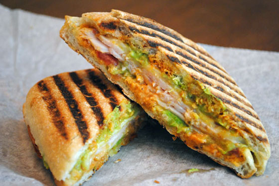Village Deli Turkey Jack Panini