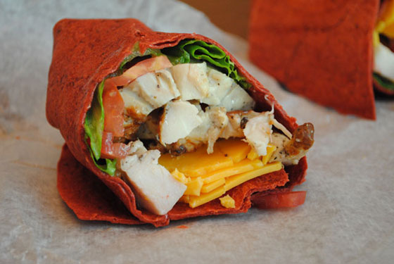 Village Deli Chicken Wrap