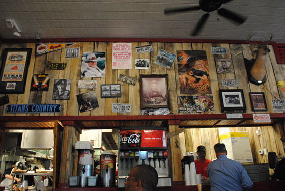 Martin's Bar-B-Que Joint Interior 2