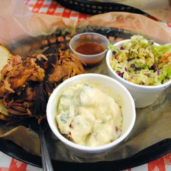 Martin's Bar-B-Que Joint Pork Plate