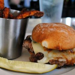 Burger Up Mushroom Swiss