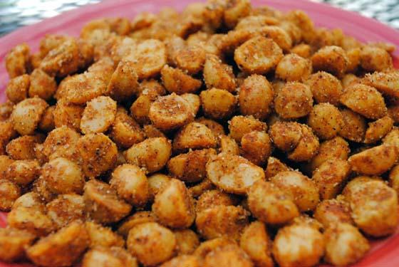Spiced Macadamia Nuts