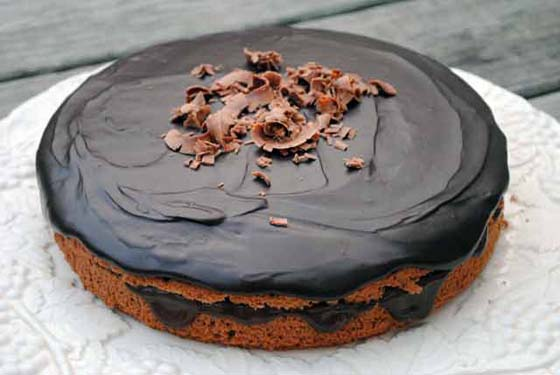 Chocolate Boston Cream Pie