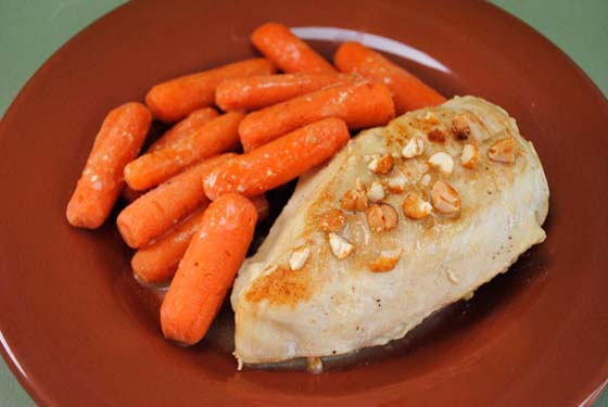 Honey Mustard Chicken and Carrots
