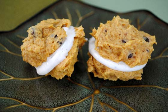Pumpkin Chocolate Chip Sandwiches by So, How's It Taste? www.leah-claire.com