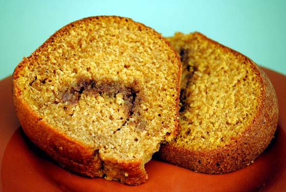 Pumpkin Streusel Cake by So, How's It Taste? www.leah-claire.com