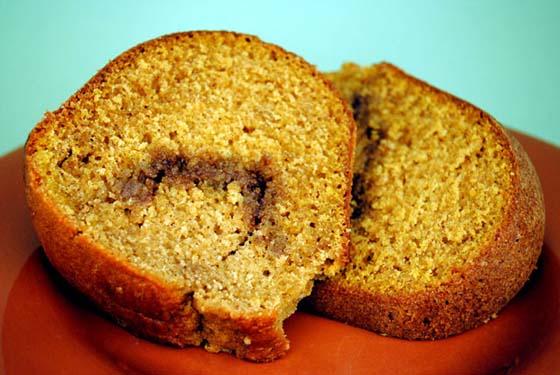 Pumpkin Streusel Cake