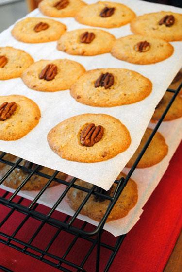 Buttery Pecan Rounds Recipe — Dishmaps