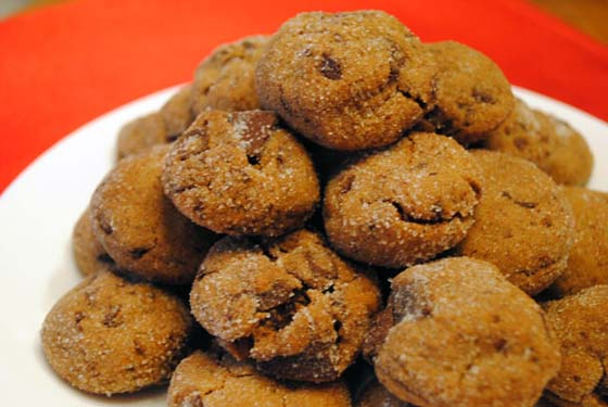 So, How's It Taste? Chewy Chocolate Gingerbread Cookies