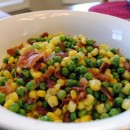Peas and Corn with Thyme Butter