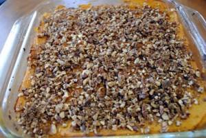 Sweet Potato Pecan Casserole
