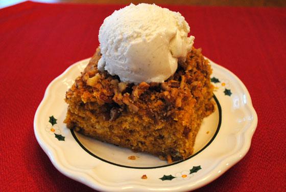 Praline Pumpkin Dessert