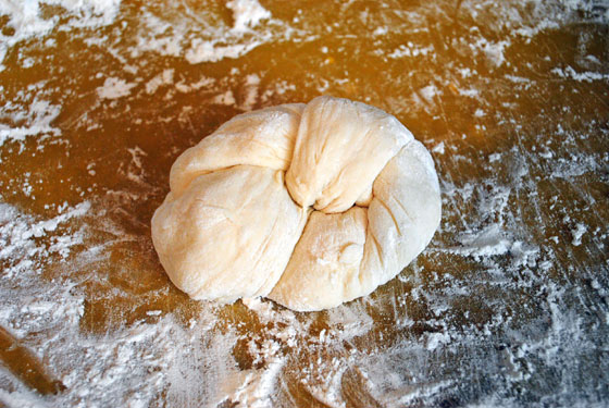 Soft Garlic Knots Step 4