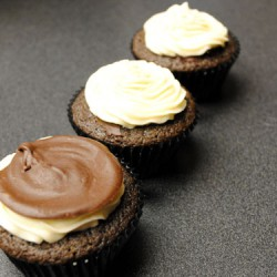 Irish Car Bomb Chocolate Cupcakes