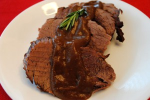 Pot Roast with Porcini Mushrooms (Stracotto)