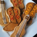 Boot and Guitar Sugar Cookies