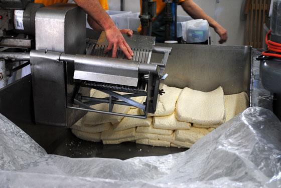 cheddaring machine