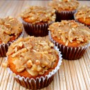 Banana Coconut Crunch Muffins