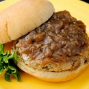 French Onion & Mushroom Turkey Burgers