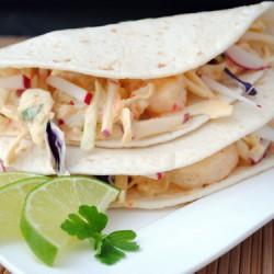 Creamy Shrimp Tacos