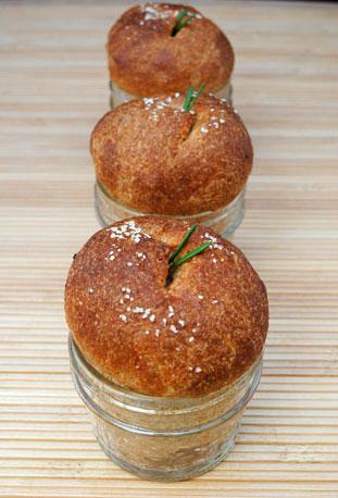 Dinner Rolls Baked in a Jar