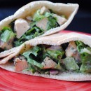 Lemon Basil Chicken Pita