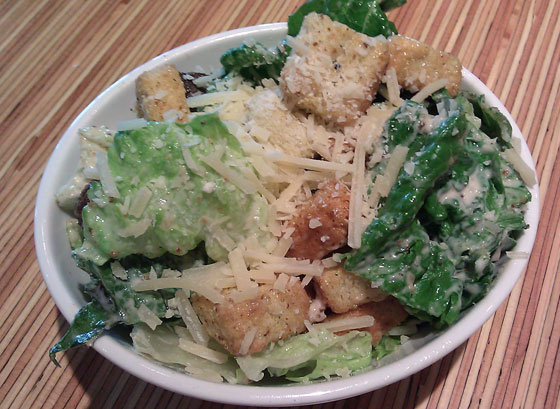 Noodles & Company Side Caesar Salad