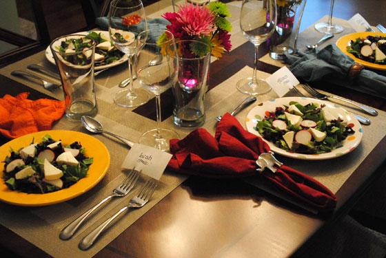 Spring Dinner Preset Salads