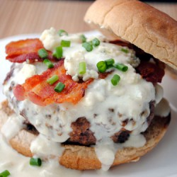Bacon Blue Burger