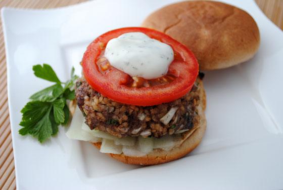 Lamb & Bulgur Burger