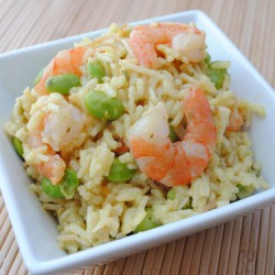 Citrus Shrimp and Rice