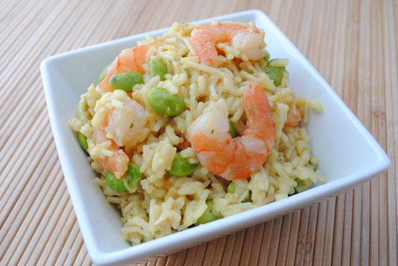 Citrus Shrimp and Rice