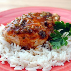 Ginger Spiced Chicken