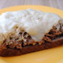 Ground Beef Reuben Melts