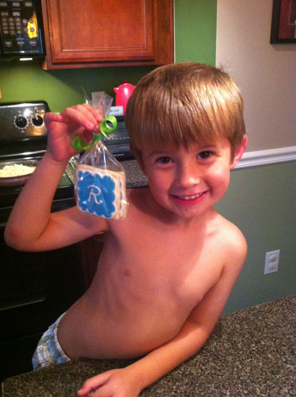 Rylan with Cookie