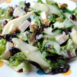 Turkey Pear Salad