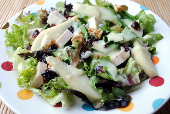 Turkey Pear Salad