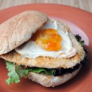 Fish Sandwich with Ginger Apricot Mayonnaise
