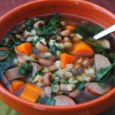 Black-Eyed Pea and Sausage Soup