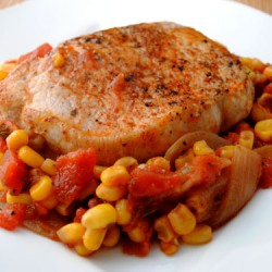 Spicy Skillet Pork Chops