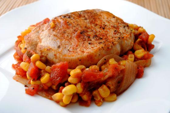 Spicy Skillet Pork Chops