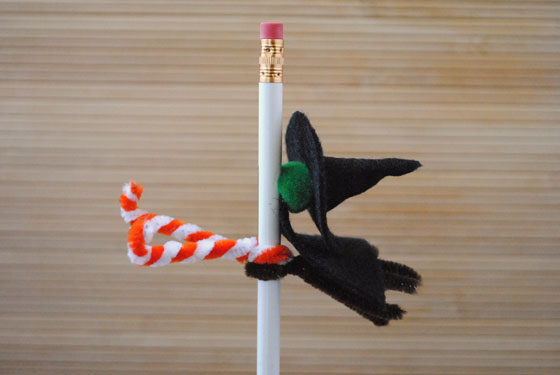 Smashed Witch Pencil