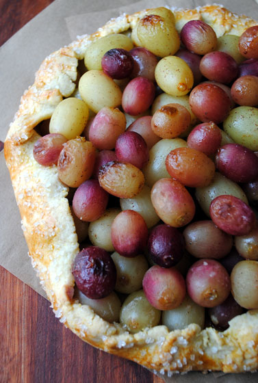 Rustic Grape Tart 2