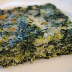 Baked Spinach & Gruyere