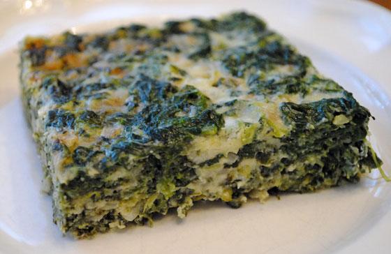 Baked Spinach & Gruyere
